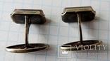 Запонки серебренные №25 photo 6