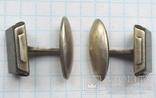 Запонки серебренные №32 photo 6