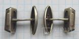 Запонки серебренные №32 photo 7