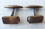 Запонки серебренные №40, фото №2