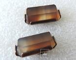 Запонки серебренные №40, фото №4