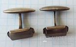 Запонки серебренные №40, фото №7