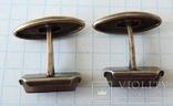 Запонки серебренные №40, фото №8