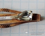 Заколка (зажим) для галстука 875 пр №2, фото №7