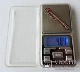 Заколка (зажим) для галстука 875 пр №5 photo 7
