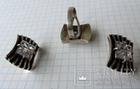 Серьги + кольцо (1), фото №7