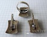 Серьги + кольцо (1), фото №8