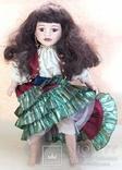 Кукла фарфоровая коллекционная париковая Цыганка 43 см, фото №3