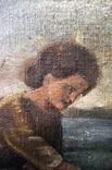 Иисус, картина маслом на полотне ранний 18 вв. Рама photo 6