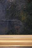 Иисус, картина маслом на полотне ранний 18 вв. Рама photo 7
