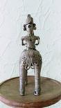 Бронзовая статуэтка, всадник на лошади. Индия XIX в photo 4