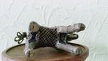 Бронзовая статуэтка, всадник на лошади. Индия XIX в photo 5