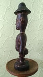 Африканская статуэтка конго. Пр. 1880 - 1900, фото №3