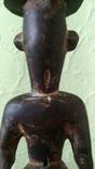 Африканская статуэтка конго. Пр. 1880 - 1900, фото №6