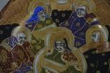 Японская тарелка сатсума пр. 1945 - 50 гг В оплёте, фото №4