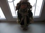 Фарфоровая кукла. Monique Финляндия  41 см., фото №2