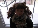 Фарфоровая кукла. Monique Финляндия  41 см., фото №3