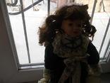 Фарфоровая кукла. Monique Финляндия  41 см., фото №7