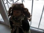 Фарфоровая кукла. Monique Финляндия  41 см., фото №8