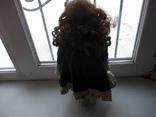 Фарфоровая кукла. Monique Финляндия  41 см., фото №9