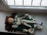 Фарфоровая кукла. Monique Финляндия  41 см., фото №11