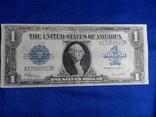 1 доллар 1923 США банкнота, из обращения Серебряный сертификат
