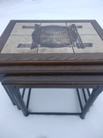 Чайный (кофейный) выдвижной столик. Восточные мотивы. (3 в 1). photo 3
