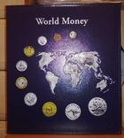 АЛЬБОМ на 152 монеты OPTIMA WorldMoney с тиснением, Leuchtturm, фото №3