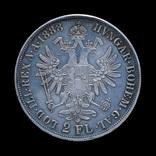 2 Флорина 1888, Австро-Венгрия photo 1