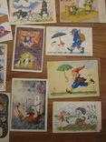 17 открыток из сказок СССР и Германия 1956,1967гг., фото №6