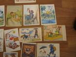 17 открыток из сказок СССР и Германия 1956,1967гг., фото №7