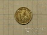 1/2 франка 1896 копия, фото №3