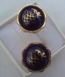 Фирменные запонки и зажим для галстука Royal Copenhagen Denmark., фото №11