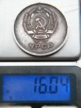 Серебряная школьная медаль.