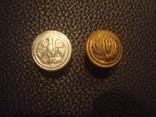 Две нечастые пуговицы италянских чернорубашечников, фото №2