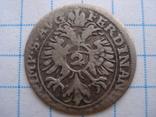 2 крейцера 1637р. Фердінанд ІІ. Аугсбург photo 2