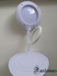 Настольная лампа «Трансформер» сенсорная, на 18650 аккумуляторе или USB.