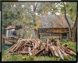 """""""Скоро зима"""", Л. Захарченко, 2010 г., 80 *100 см."""
