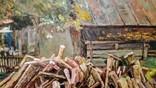 """""""Скоро зима"""", Л. Захарченко, 2010 г., 80 *100 см. photo 2"""