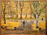 """""""Осень в городском парке"""", 73*59 см. photo 1"""