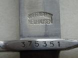 Штык швейцарский обр. 1889/1911 г. к винтовке системы Шмидт-Рубин photo 2