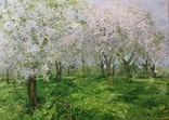 """ Цветущий сад "". С.Берестов. Холст, масло. photo 1"