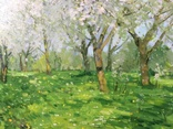 """ Цветущий сад "". С.Берестов. Холст, масло. photo 5"