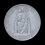 10 Лир 1934 Пий ХІ, Ватикан