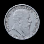 2 Марки 1907 Посмертные, Баден