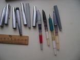 Ручки перьевые и подставка, фото №5