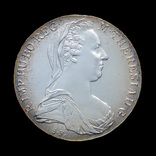 Талер 1780 Мария Терезия, Австрия Рестрайк