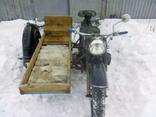 Мотоцикл к-750 с документом photo 2