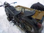 Мотоцикл к-750 с документом photo 7