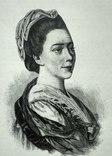 Фальконе( Колло) Мария Анна ксилография 1895 год. photo 1
